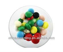 decorative wholesale acrylic flat back round round for crafts