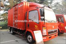 SINOTRUK HOWO 4X2 mini cargo van trucks