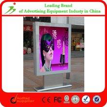 Floor Stand City Street Outdoor Rolling Advertising Board