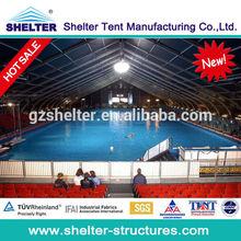 PeRu Large shelter tent as swimming pool