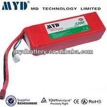 High capacity 3300mah lipo battery for nokia bl-5c