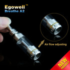 Breathe A2 unique cigarettes with vaporizer glass globe atomizer and stainless steel filter from egowell