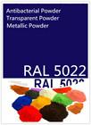 Antibacterial powder Epoxy resin powder coating factory RAL 5022