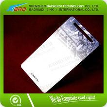 Brand new PVC blank greeting cards