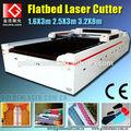 Stores / rideau tissu de coupe, Laser de coupe à plat la Machine