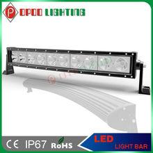 ATV light bar Curved , Hotsale Combo/ Spot/Flood 100w 20inch Curved led light bar ATV light bar