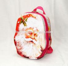2014 newest hot sale zipper metal school bag with strap