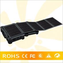 Mobile solar panel caravan kit