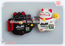promotion gift 3D soft pvc fridge magnet animal shape