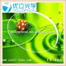 spherical blue cut coating 1.56 super hydrophobic 72/75mm