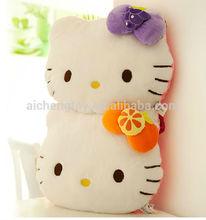 40X40CM high quality plush hello kitty cushion for baby