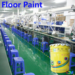Cement floor low cost electronics industrial frizz-free floor coating