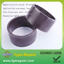 Injection Bonded Ferrite Magnet with Over-molded Plastic Material