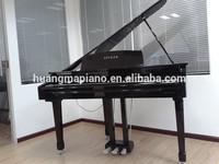Digital Piano Factory 88 keys Black Polish Digital Grand Piano HUANGMA HD-W086 small piano hinge
