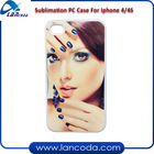 sublimation phone cases blanks for iphone4/4s