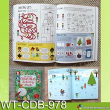 WT-CDB-978 High quality children activity book printing service