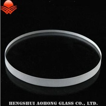 Flat Borosilicate Round Gauge Sight Glass sheet