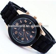 Top brand fashion women geneva platinum watches price