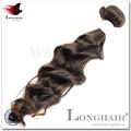 Facile à appliquer et à enlever #1 couleur 95-105g/bundle qingdao gros cheveux indiens tresse