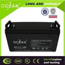 Maintenance free AGM battery for solar system battery 12v lead acid battery regeneration