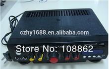 AC220v/110V/12v car amplifier with FM + Remote control