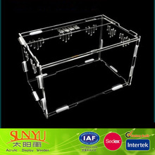 Transparent Acrylic Small Pet Cage Reptile Cage Wholesale