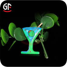 2014 New Items Arts And Craft Durable Flashing Led Light Badge