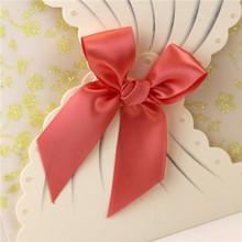 popular nobel paper wedding invitation card 10% discount in first order