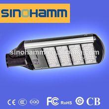 Brand SINOHAMM high quality high lumen IP65 160w led street light led light solar panel