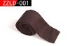 New 2014 Fashion Brand Luxury Slim Fit Necktie Solid Color Knit Tie