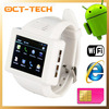 Cheap price WIFI cell phone Dual core,New watch phone MTK6515 1.8inch