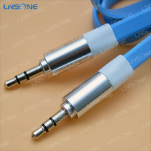 High quality 3.5mm double jack audio cable adapter cable