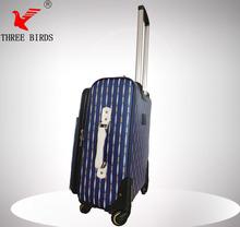 travel case organizer,hebei three birds famous luggage brands,pu luggage shopping trolley bag
