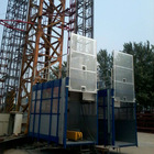 CE Approved Construction Hoist, Double Cage