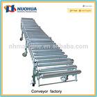gravity flexible zinc-plated extending roller conveyor systems manufacturer