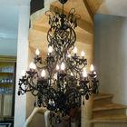 French black light classic living room brass black light