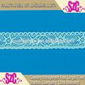 Xs04 fábrica de vendas diretas 1'' dyeable projeto novo tecido elástico rendas para lingerie
