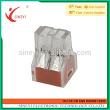 Yuyao Sineyi 2014 PC252 series factory price crimp terminal connector 4P home lighting terminals
