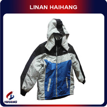 high quality panel lined SOFT SHELL baby wear wholesale