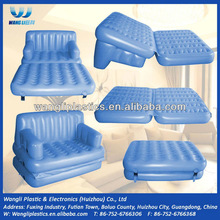 Hot sale folding sofa bed inflatable 5 in 1 lounge air sofa bed