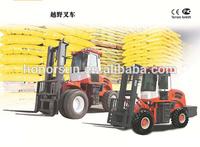5.5 ton all terrain forklift /Off-road forklift/Rough terrain forklift