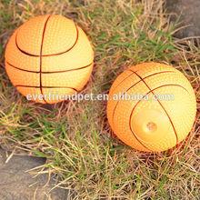 2014 high quality cheap stuffed basketball dog toy