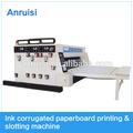 yfq سلسلة من الحبر سعر الجهاز صندوق من الورق المقوى آلة الطباعة الشق/ آلة طباعة فليكس الشق