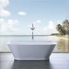 Solid Surface stone freestanding bathtub-ST-06
