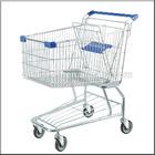 Jiangsu Suzhou manufacturer wholesale the hot selling American style supermarket cheap shopping carts