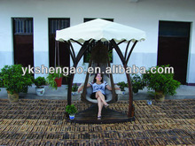 outdoor garden wooden swing relax chair(for single)