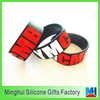 2014 hot selling YMCMB bracelet engraved with two colors silicone wristband
