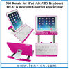 LBK163 High Quality 360 Degree Rotating Bluetooth Keyboard Case for Apple iPad Air 5 wholesale price