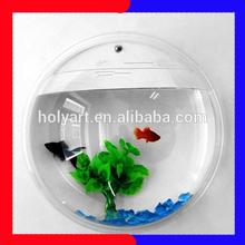 wall mounted fish bowl