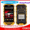 2014 waterproof shockproof dustproof cell phone Discovery V6